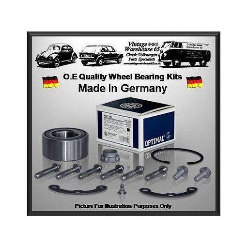 Vw Scirocco 1.6 72Bhp Coupe Rear Optimal Germany Wheel Bearing Kit