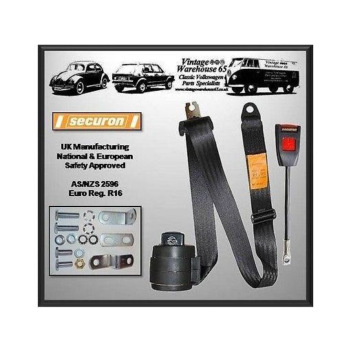 Fiat 126 Convertible & Coupe 3 Point Front Fully Automatic Seat Belt Kit