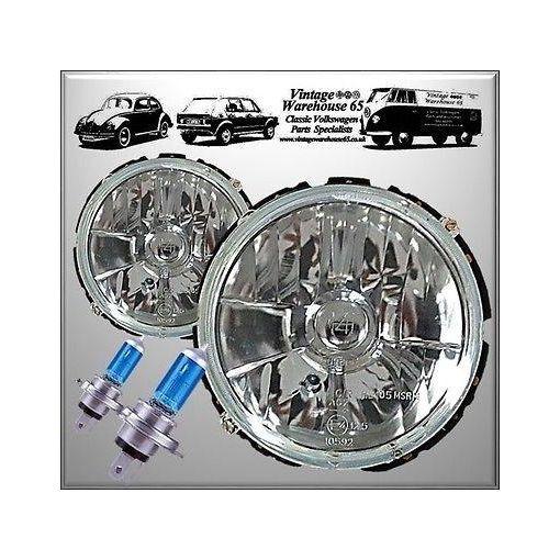 Volkswagen Golf Mk1 1.8Gti Crystal 50% Brighter Xenon Halogen Upgrade Headlight