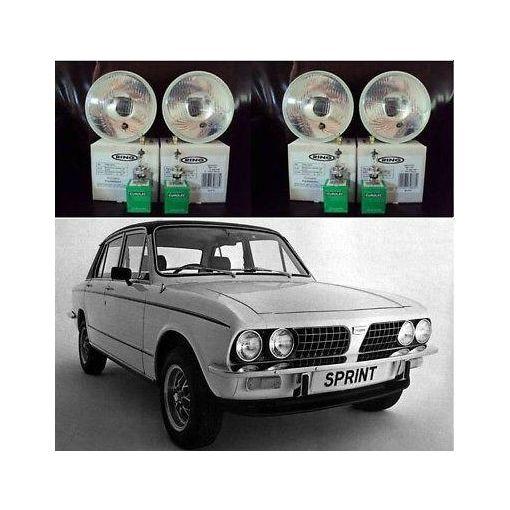 Triumph Dolomite,Stag Halogen Headlight Conversion Kit #1