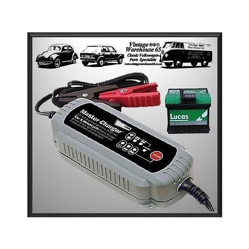 Classic Car & Motorbike Automatic 12v 3.8Amp Intelligent Battery Trickle Charger