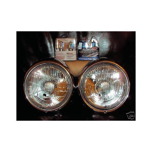 Vw Baywindow Camper Beetle Models 1974 to 1979 Xenon Halogen Upgrade Headlights