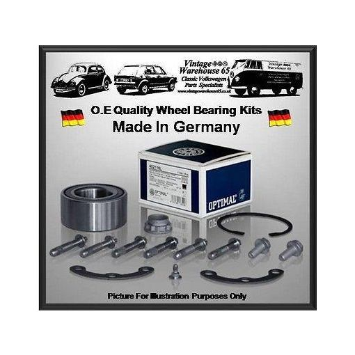 Vw Caddy Mk2 Pickup 1.6 75Bhp Pickup Rear Optimal Germany Wheel Bearing Kit