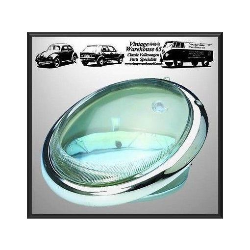 "Vw Splitscreen T1 1500 USA Spec 7"" Sealed Beam Halogen Headlight Unit 111941037C"