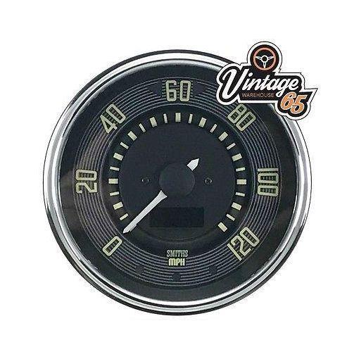 VW Classic Beetle T1 T2 120 Mph 12v Digital Speedometer Oe Style Speedo Upgrade