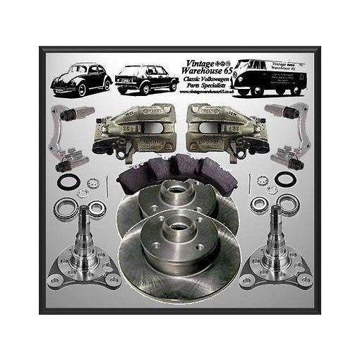 Volkswagen Caddy Mk1 G60 20v Turbo 226mm Rear Brake Disc Conversion Upgrade Kit