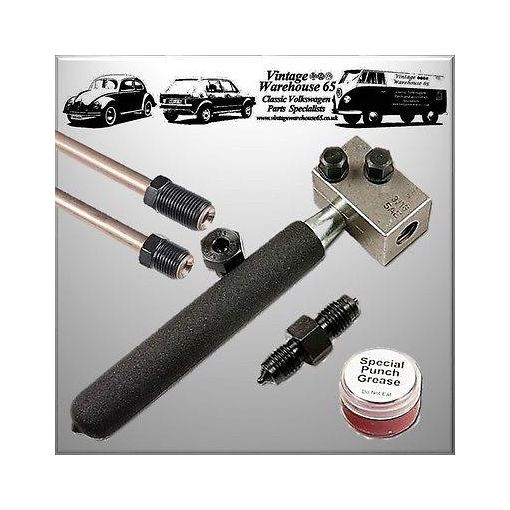 "Vw Classic Hand Held In-situ On Car/Bench 3/16"" Brake Pipe Line Flaring Tool Kit"