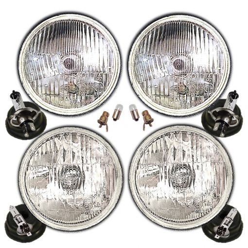 "5 & 3/4"" Halogen conversion headlight units"