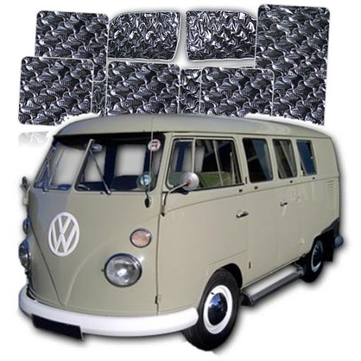 Summit VW T2 Splitscreen Pre 1968 Models 11Pce Internal Thermal Blinds